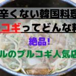 辛くない韓国料理???ソウルにある絶品のプルコギ店4選とは!?