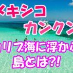 メキシコのリゾート地カンクン!!美しいカリブ海に浮かぶ島とは?!