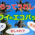 ハワイの土産をネットショッピング!?もらって嬉しいエコバッグ7選!!